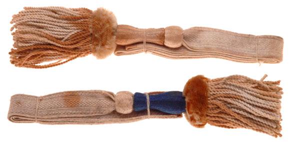 Two WW1 Era German Sword Knots