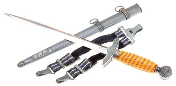 Luftwaffe Dagger & Hangers - WKC
