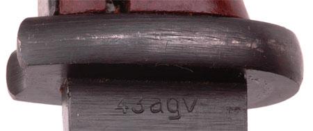 K98 Bayonet: 1943 Berg & Co.