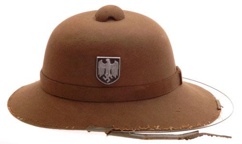 Africa Corps Pith Helmet