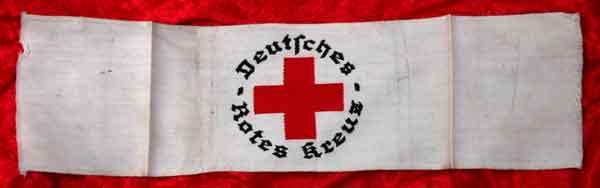 Red Cross Germany German Red Cross Armband